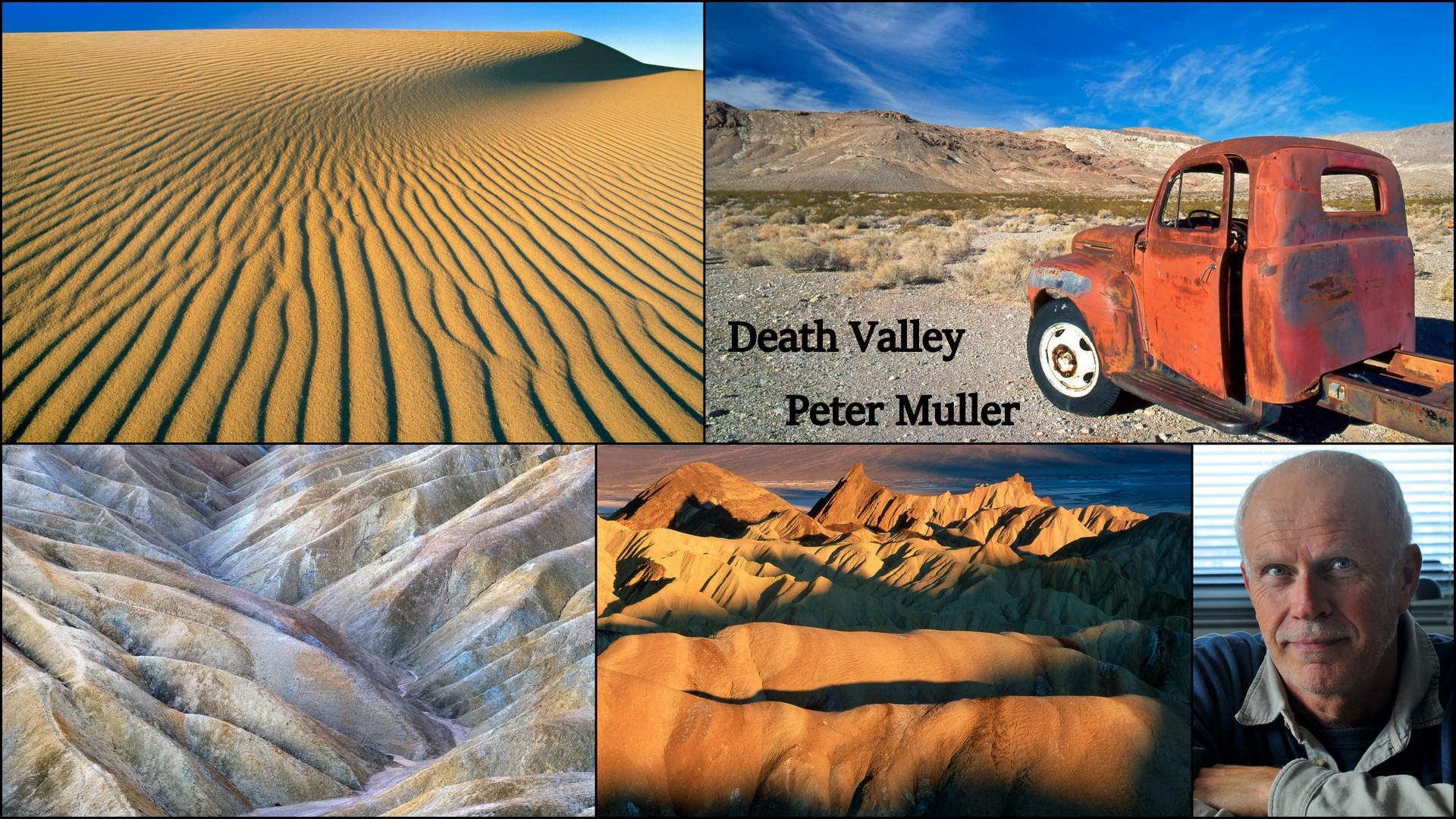 DEATH VALLEY - PETER MULLER  bij DEEL DE NATUUR op NATURE TALKS!