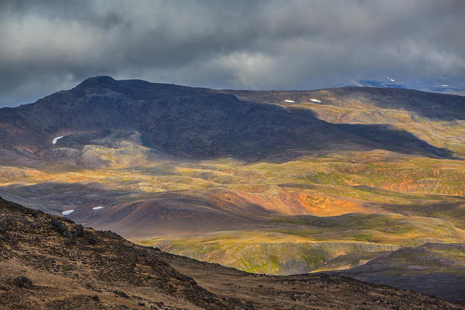 Vulkaanlandschap, IJsland