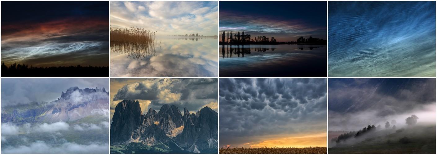 Thema van de maand maart - Wolken