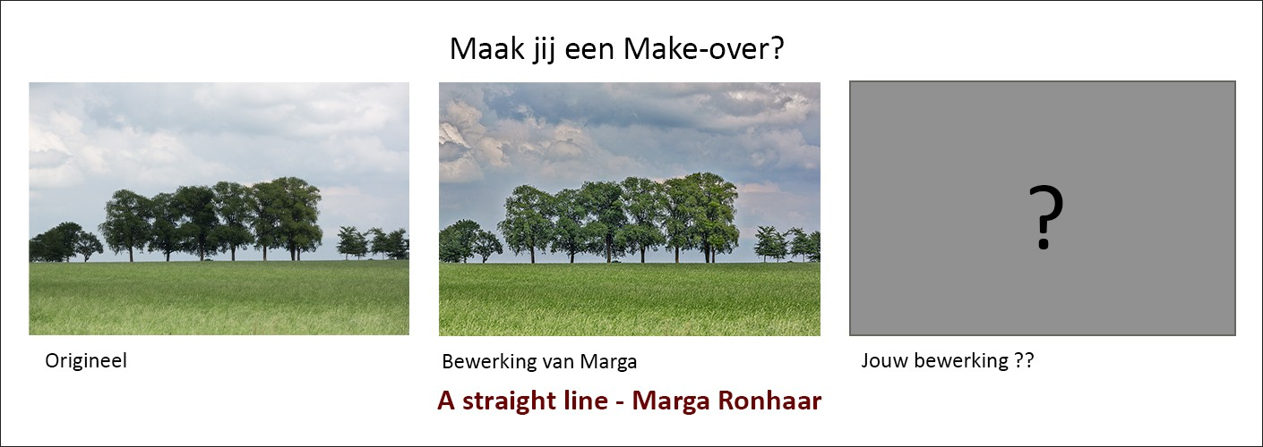 """A Straight line"" - maak jij een make-over?"