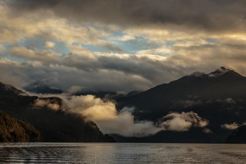 Dawn on Doubtful Sound