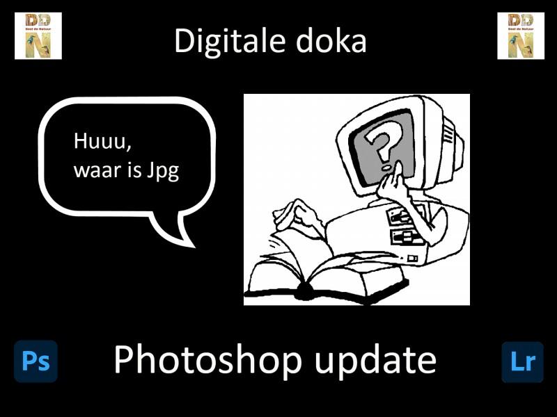 Opslaan in Jpg na update Photoshop